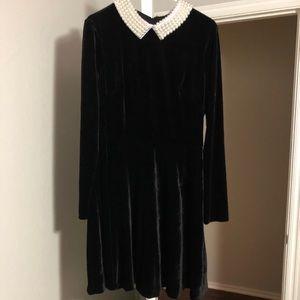 Betsy Johnson velvet dress